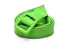 Groene riem stock afbeeldingen
