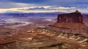 Groene Rivier dichtbij Moab Royalty-vrije Stock Fotografie