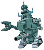 Groene robot Stock Afbeelding