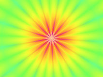 Groene Rode het behangachtergrond van het Onduidelijke beeld van de Bloem Stock Afbeelding