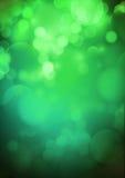 Groene romantische achtergrond Vector Illustratie