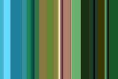 Groene roze blauwe abstracte lijnen, ontwerp Royalty-vrije Stock Foto's