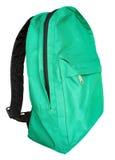 Groene rugzak Stock Afbeeldingen
