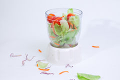 Groene salade _1 royalty-vrije stock fotografie