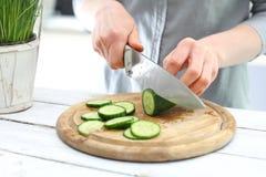 Groene salade, licht dieet Royalty-vrije Stock Afbeeldingen