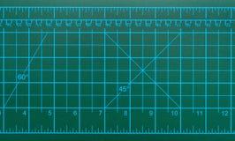 Groene scherpe mat Royalty-vrije Stock Foto's