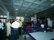 2012 groene Scholentop Stock Afbeeldingen