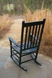 Groene schommelstoel Royalty-vrije Stock Foto