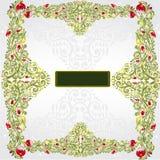 Groene shinny patroon glanzende achtergrond Royalty-vrije Stock Foto's