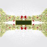Groene shinny patroonachtergrond Stock Afbeeldingen