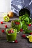 Groene Smoothie Stock Afbeeldingen