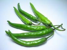Groene Spaanse peper royalty-vrije stock foto