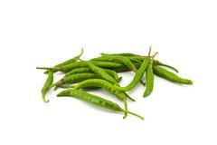 Groene Spaanse peper stock afbeelding