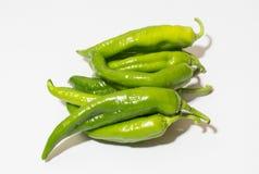 groene Spaanse peper Stock Fotografie