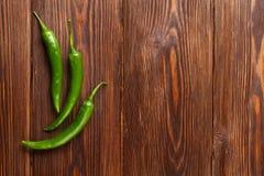 Groene Spaanse peperpeper royalty-vrije stock foto's