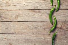 Groene Spaanse peperpeper stock fotografie