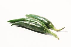 Groene Spaanse peperpeper, Thailand. Royalty-vrije Stock Fotografie