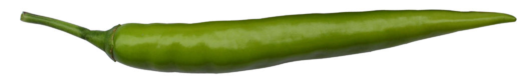 Groene Spaanse pepers Stock Fotografie