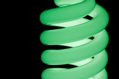 Groene spiraal Royalty-vrije Stock Afbeelding