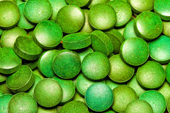 Groene Spirulina Royalty-vrije Stock Afbeelding