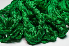 Groene spoel van draad Stock Afbeelding