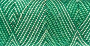 Groene spoel van draad stock afbeeldingen