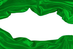 Groene stof royalty-vrije stock foto's