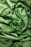 Groene stoffenachtergrond Stock Afbeeldingen