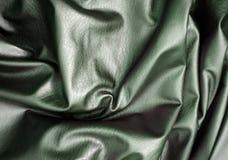 Groene stoffentextuur royalty-vrije stock fotografie