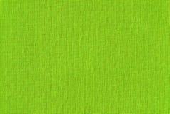 Groene stoffentextuur Stock Foto