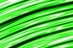 Groene strepen - abstract digitaal geproduceerd beeld Stock Foto