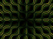 Groene symmetrieachtergrond Royalty-vrije Stock Fotografie