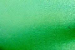 Groene synthetische leertextuur Stock Afbeelding