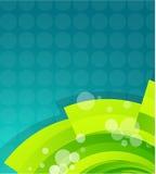 Groene technogolf Stock Afbeelding