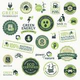 Groene technologie Stock Fotografie