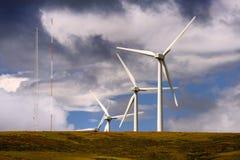 Groene technologie, Glendevon, Schotland Stock Foto's