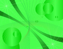 Groene technologieachtergrond stock fotografie