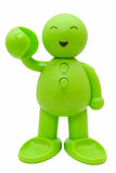 Groene Teddy Royalty-vrije Stock Afbeelding