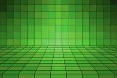 Groene Tegel stock illustratie