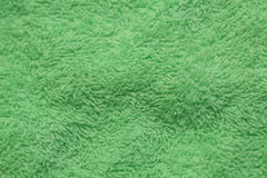 Groene textielachtergrond Royalty-vrije Stock Foto