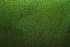 Groene textieltextuur Royalty-vrije Stock Foto