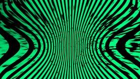 Groene Textuur Hypnose halftone psychedelisch art. Grafische in syntwaveachtergrond stock illustratie