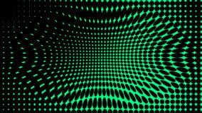 Groene Textuur Hypnose halftone psychedelisch art. Grafische in syntwaveachtergrond royalty-vrije illustratie