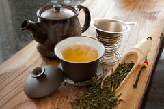 Groene thee Royalty-vrije Stock Afbeelding