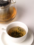 Groene thee Stock Foto