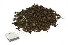 Groene thee met citroen Royalty-vrije Stock Foto's