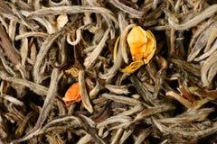 Groene thee met jasmijn royalty-vrije stock afbeeldingen