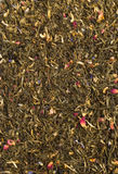 Groene theeachtergrond Stock Afbeelding