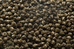 Groene theeachtergrond royalty-vrije stock afbeelding