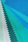 Groene toontextuur van stof Stock Fotografie